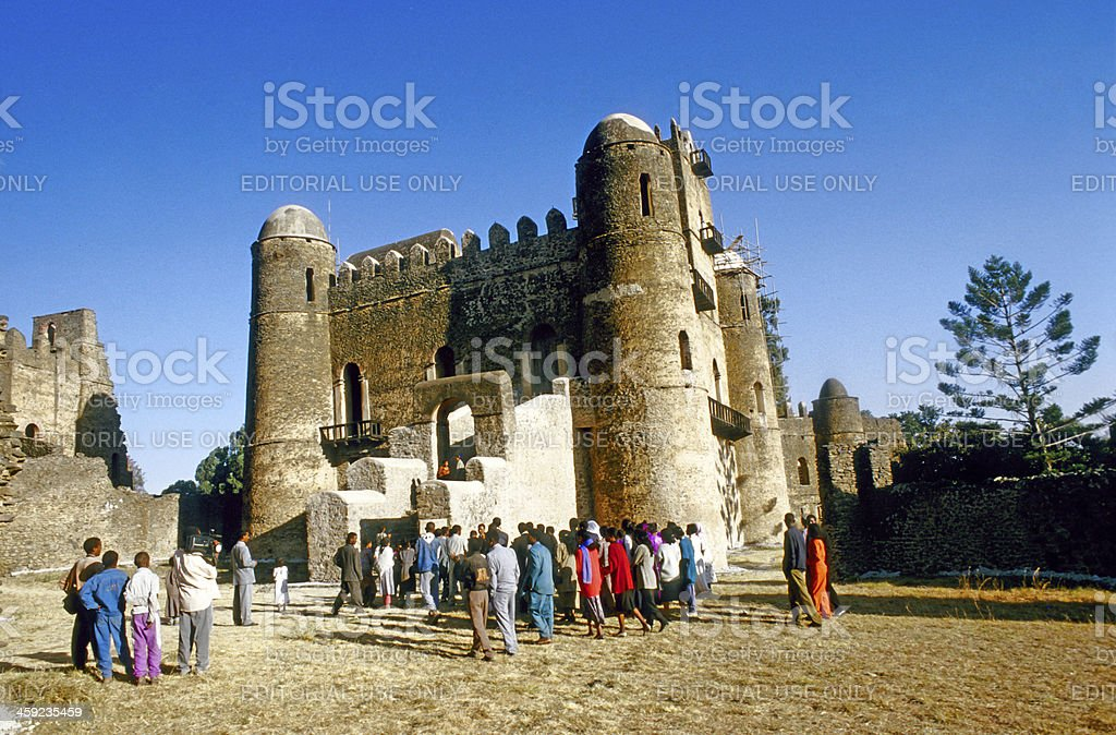 people love to marry in Gondar stock photo