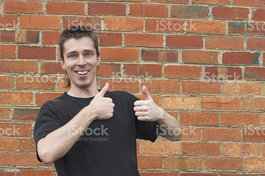 (Photo request) People: mullet man stock photo