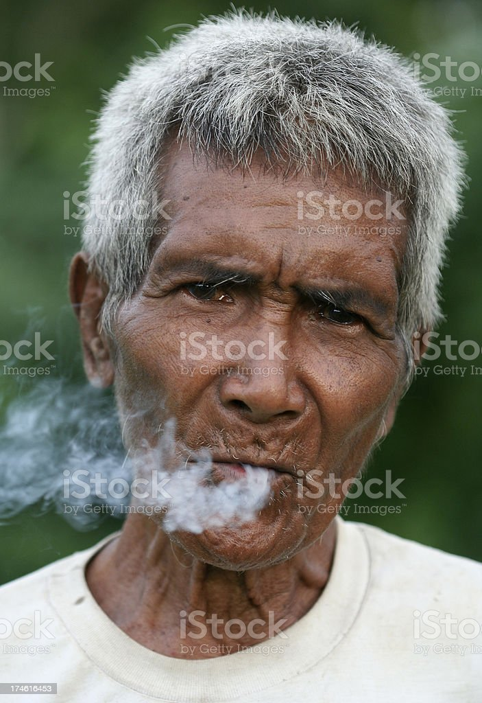 People of Sumba, Indonesia. royalty-free stock photo