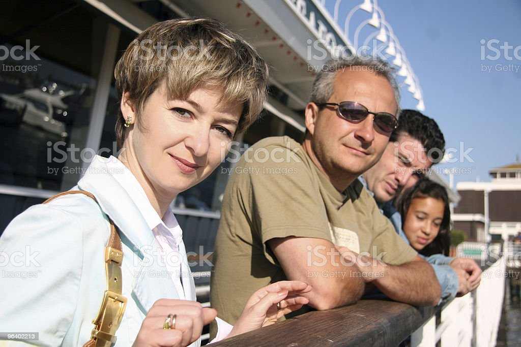 People on vacation royalty-free stock photo