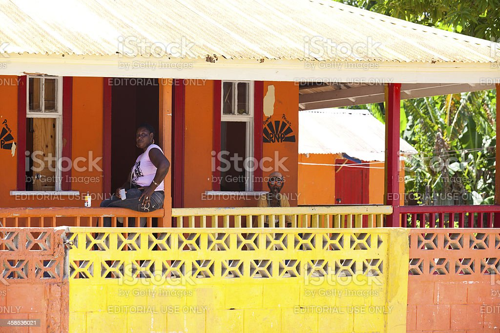 People power in Jamaica royalty-free stock photo