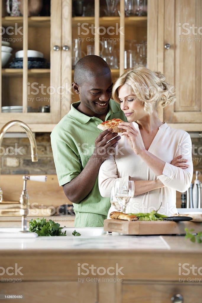 People preparing food royalty-free stock photo