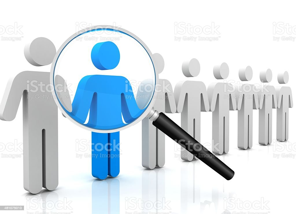 People Search stock photo