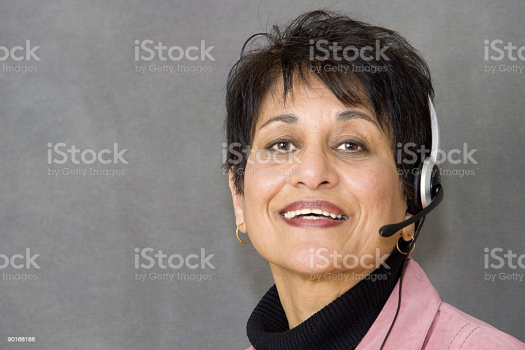 People - Senior East Indian Woman #10 royalty-free stock photo