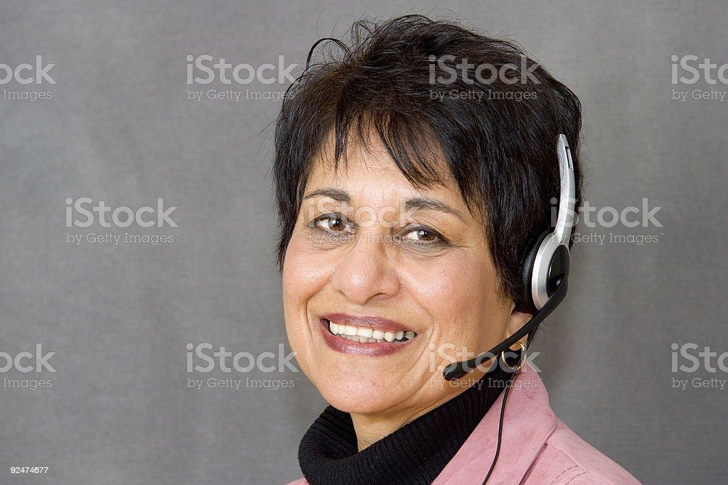 People - Senior East Indian Woman #11 stock photo