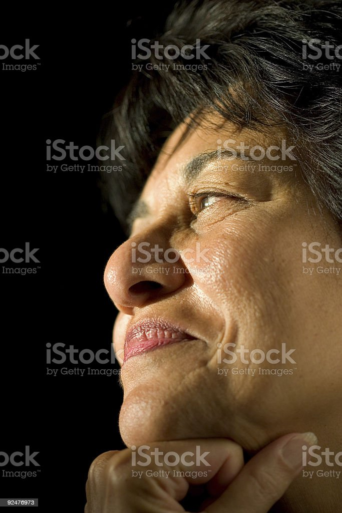People - Senior East Indian Woman #09 royalty-free stock photo