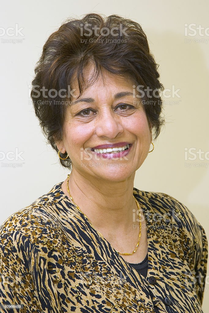 People - Senior East Indian Woman #16 stock photo