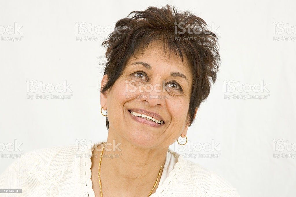 People - Senior East Indian Woman #18 royalty-free stock photo