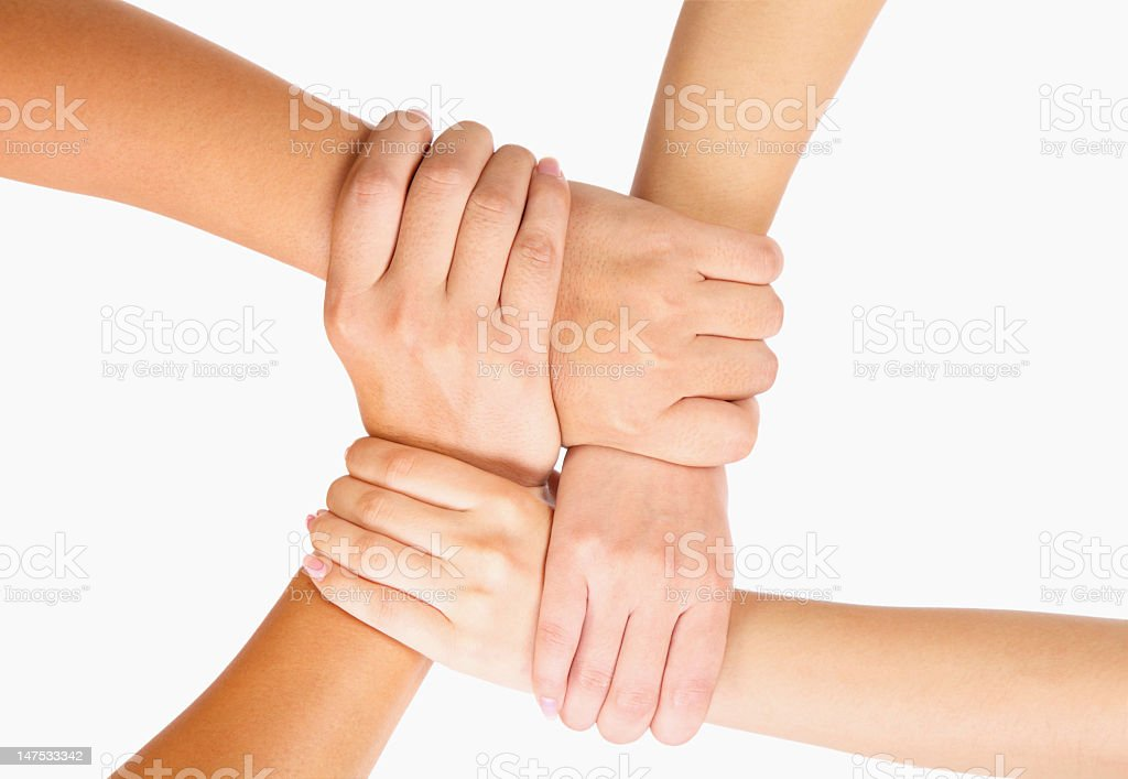 people showing unity-XXXL royalty-free stock photo