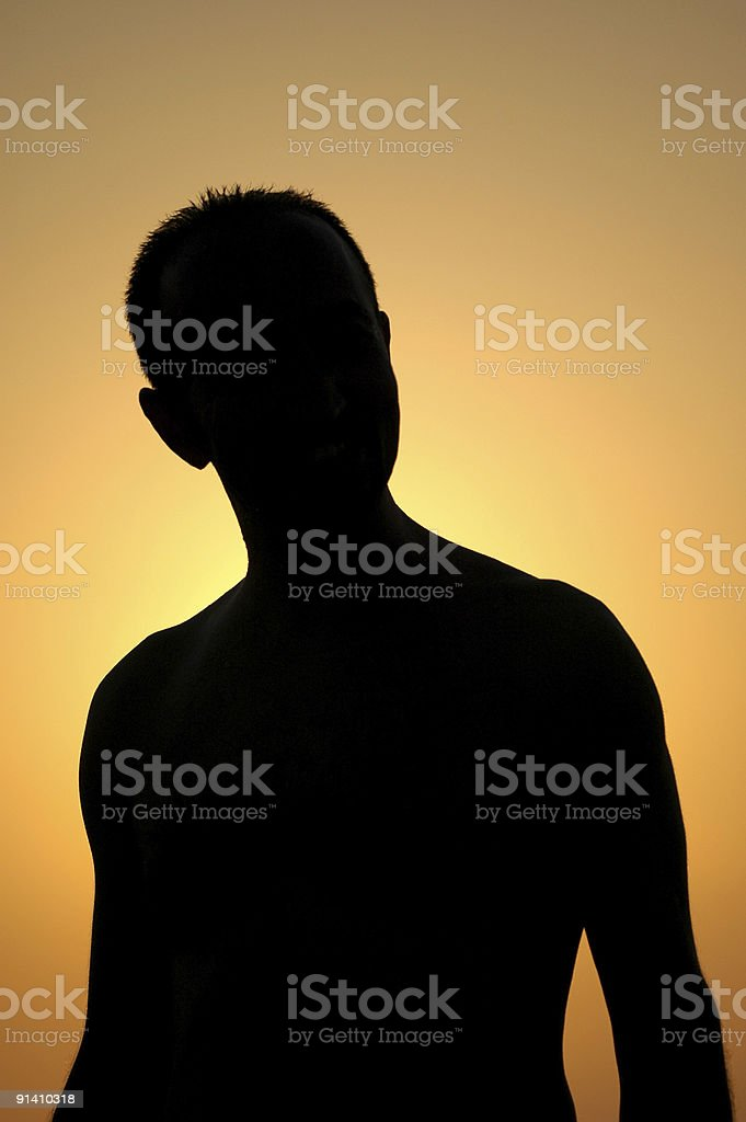 people silhouette royalty-free stock photo