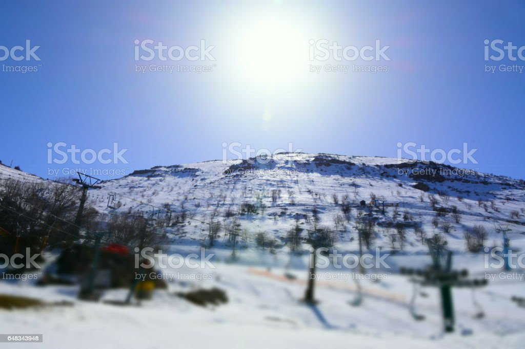 People enjoy ski vacation
