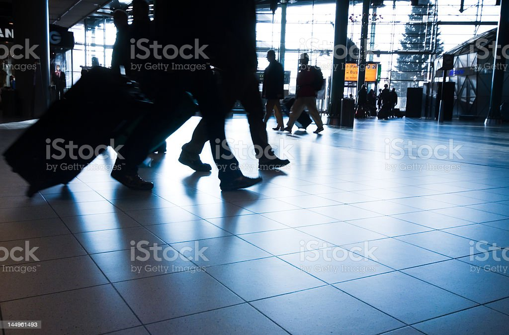 people traveling royalty-free stock photo
