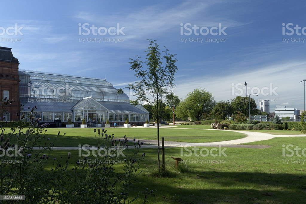 People-palace stock photo