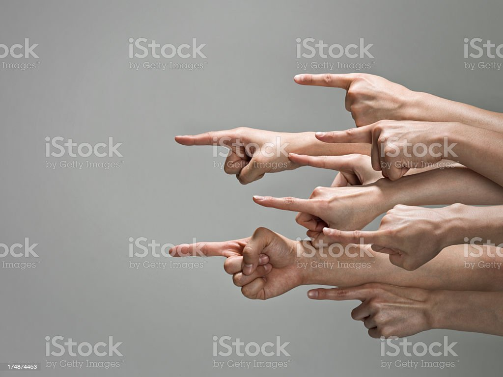 People's hand concentrates. royalty-free stock photo