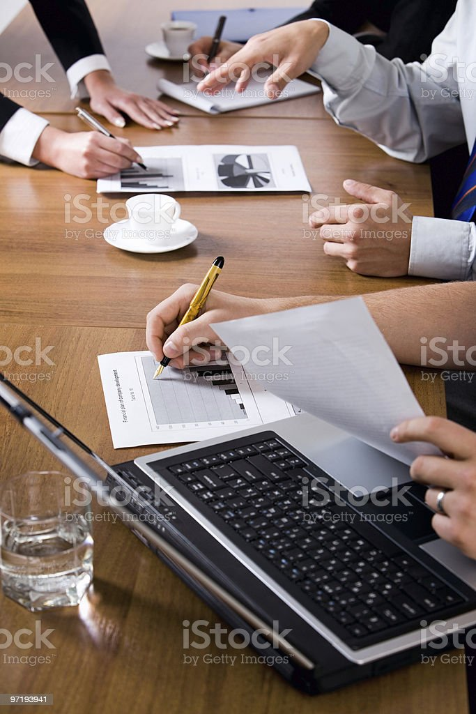 People's hands royalty-free stock photo