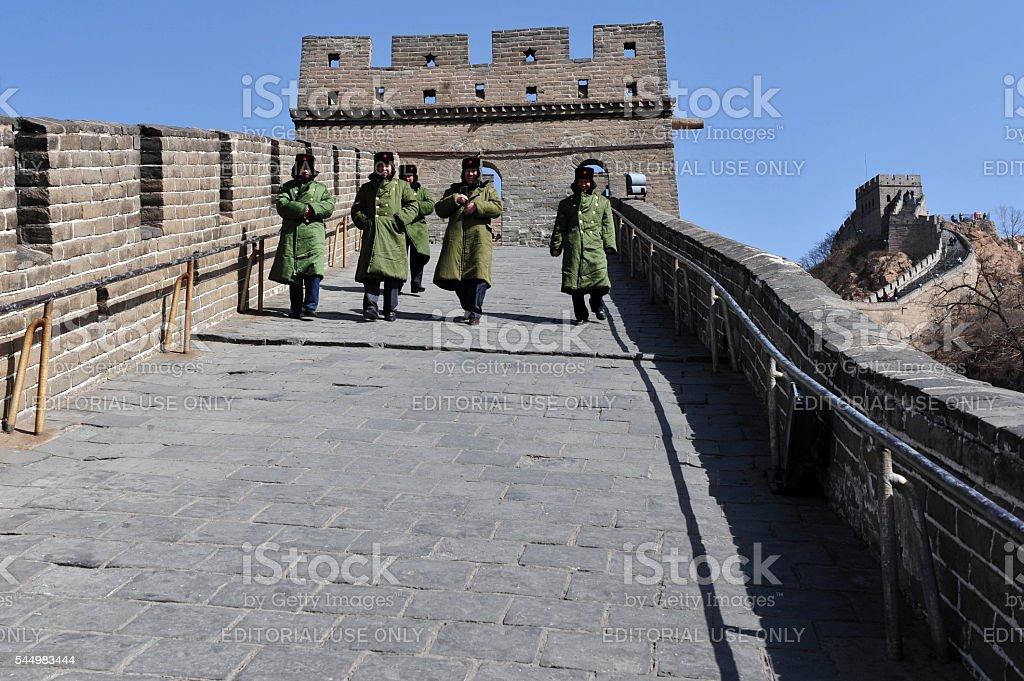 People's Liberation Army, Beijing, China stock photo
