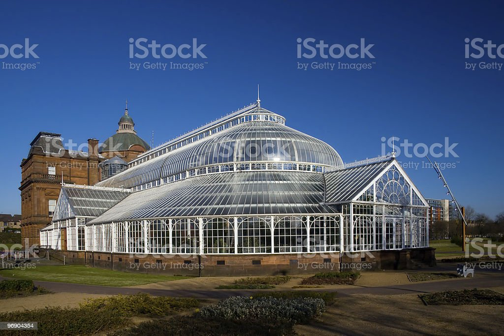 peoples palace stock photo