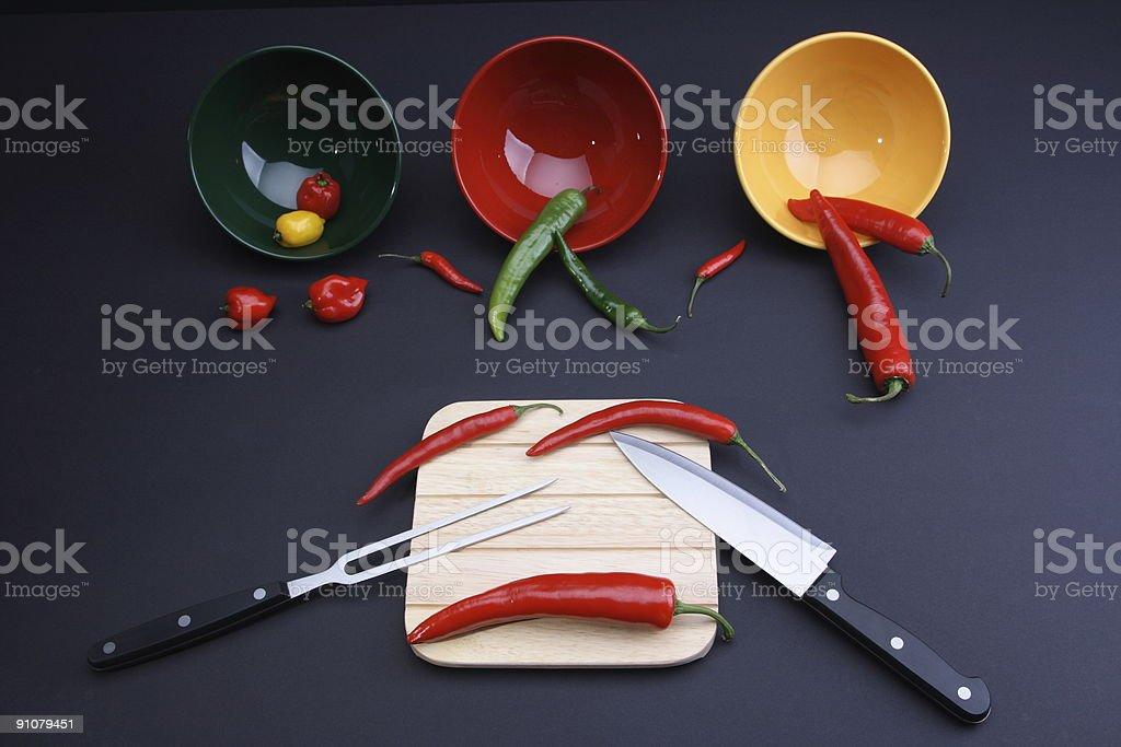 Pepper Ensemble stock photo