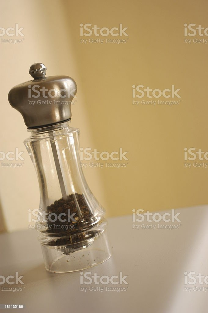 pepper grinder royalty-free stock photo