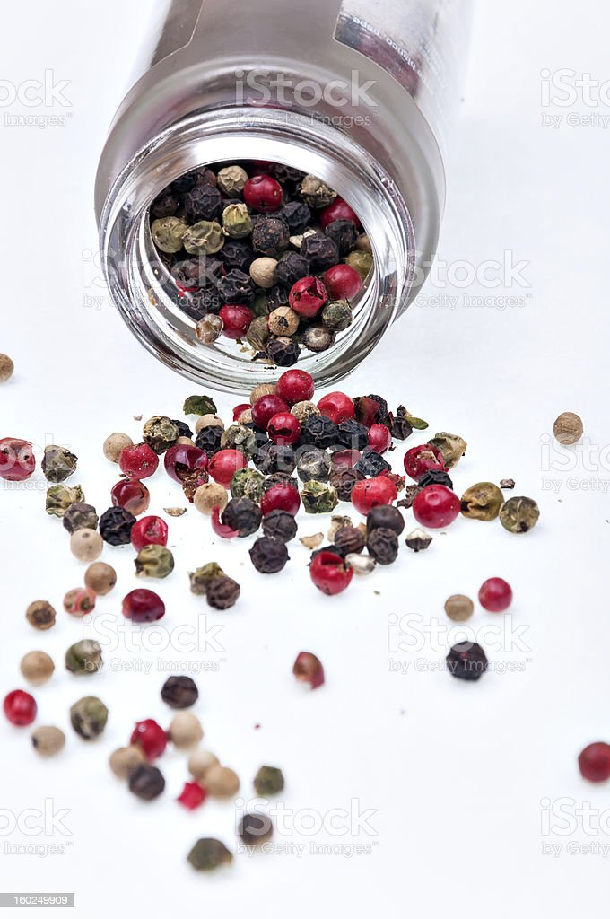 pepper mixed royalty-free stock photo