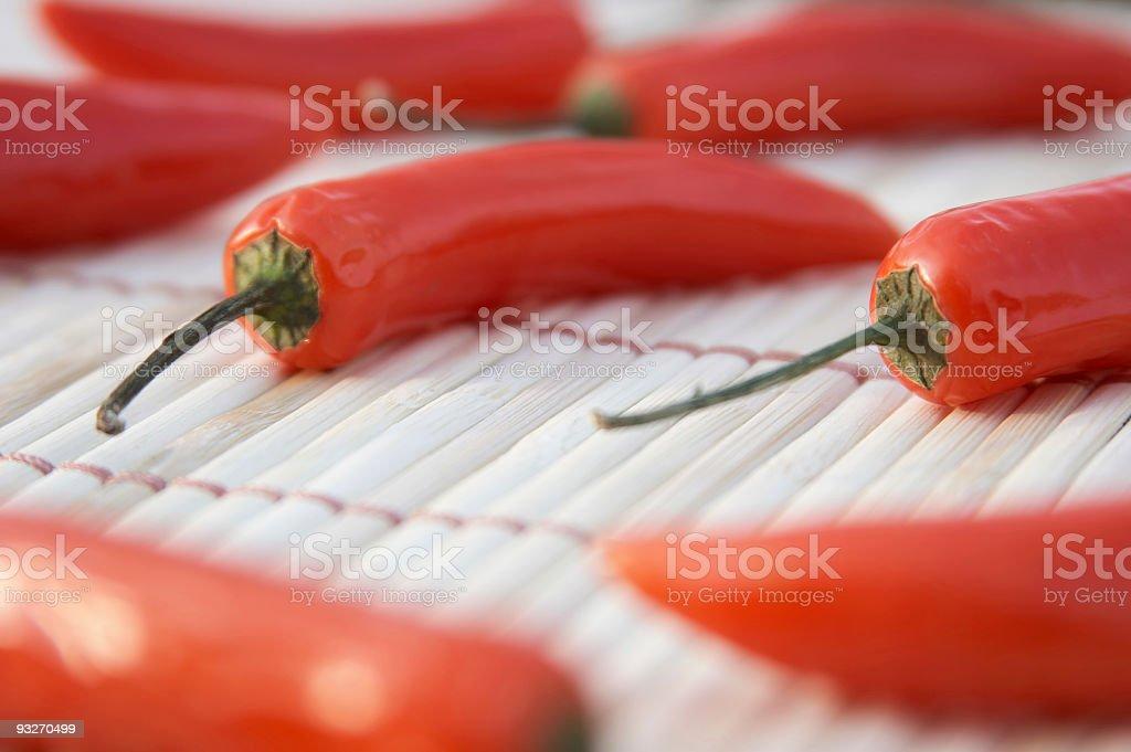 Pepper Pile stock photo