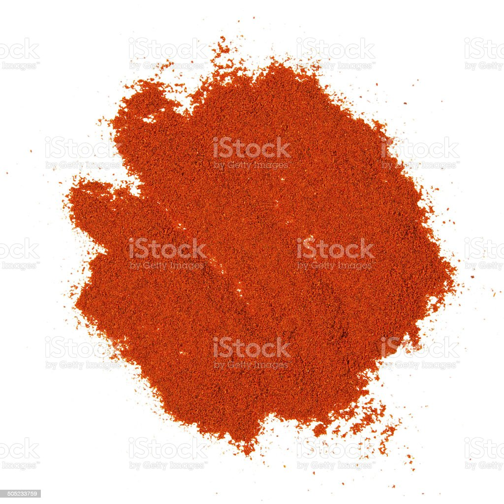 Pepper powder stock photo