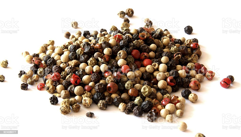 Pepper spice close-up royalty-free stock photo