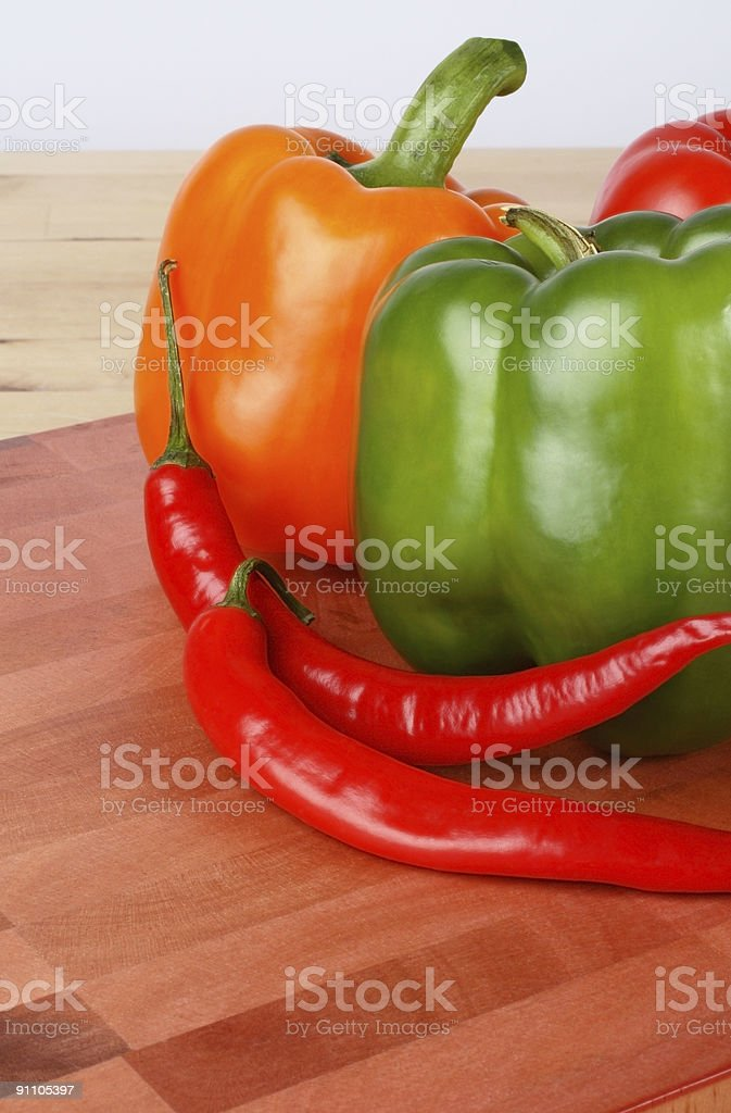 Pepper Variety royalty-free stock photo