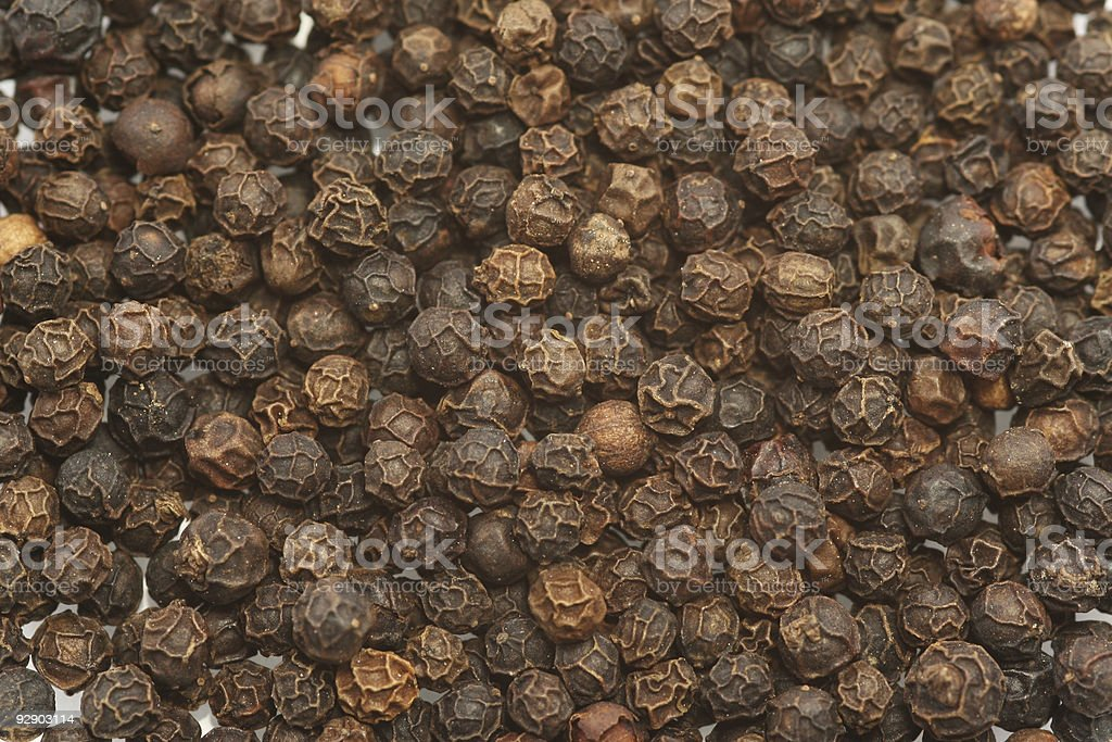 Peppercorn Background royalty-free stock photo