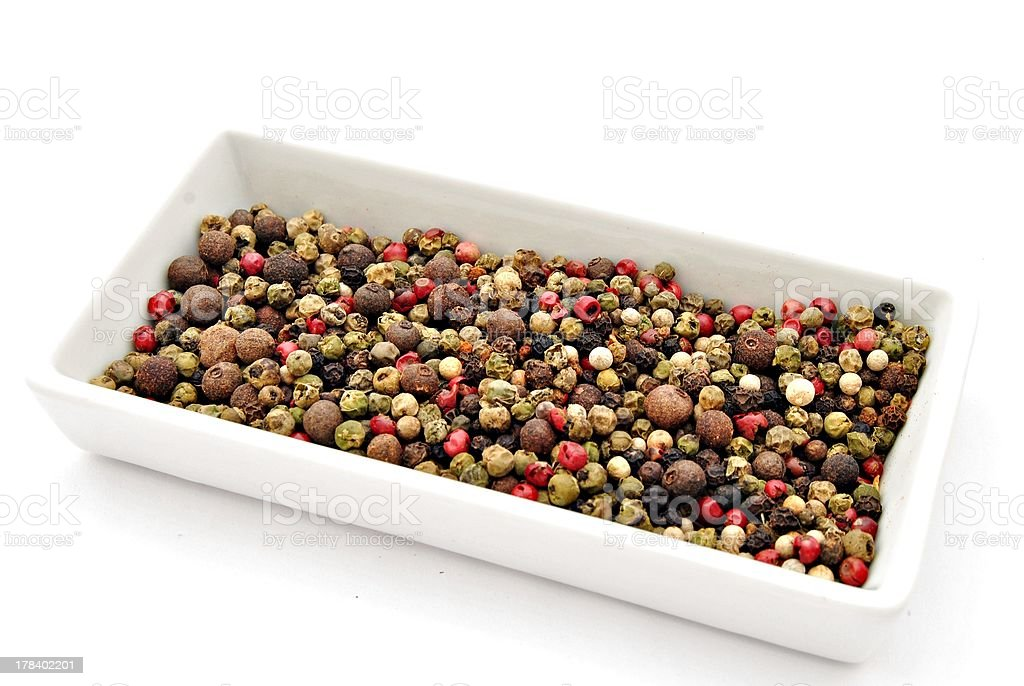 Peppercorns royalty-free stock photo