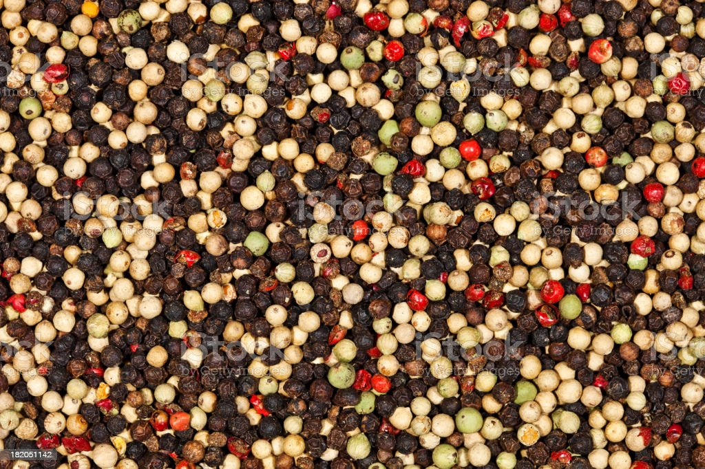 Peppercorns XXXL royalty-free stock photo