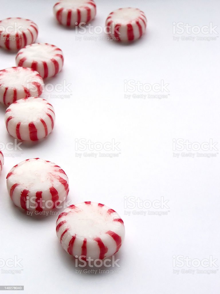 Peppermint Candies 3 royalty-free stock photo
