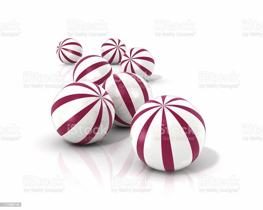 ペパーミントのお菓子 ロイヤリティフリーストックフォト