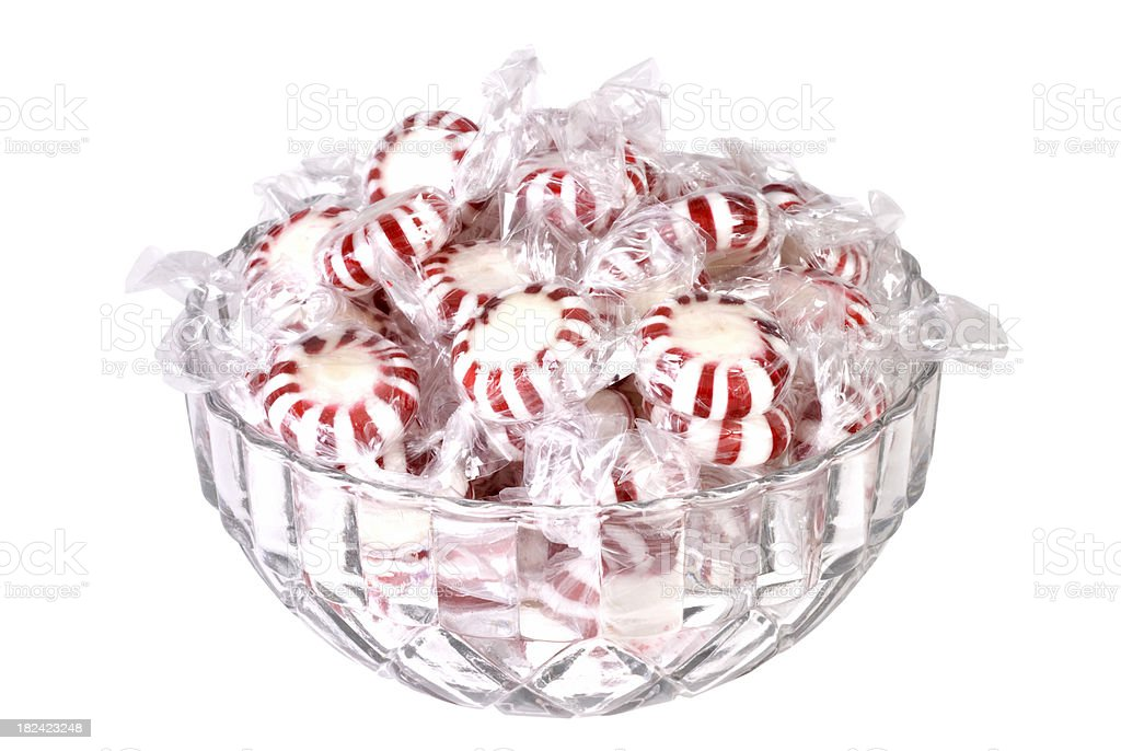 Peppermint Candy Wapper royalty-free stock photo