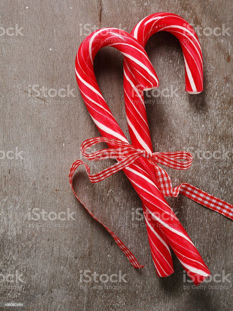peppermint christmas candy stock photo
