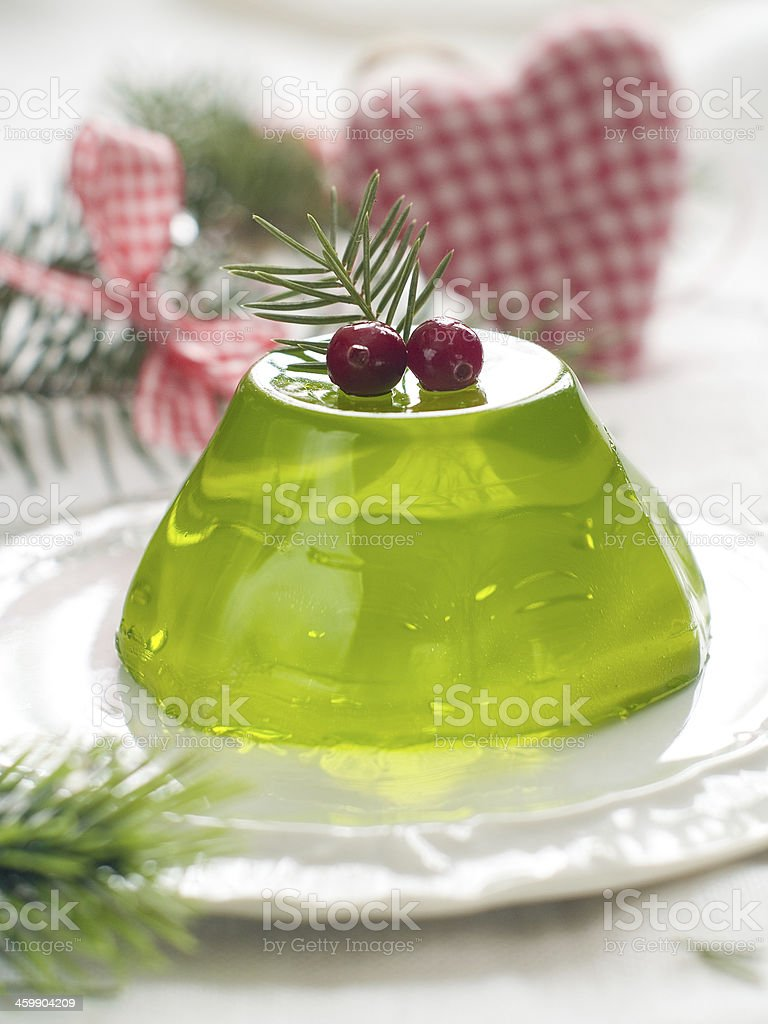 Peppermint jelly royalty-free stock photo