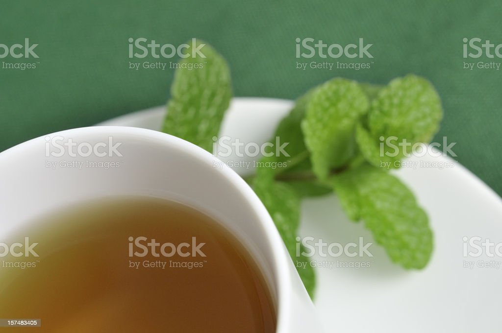 Peppermint tea royalty-free stock photo