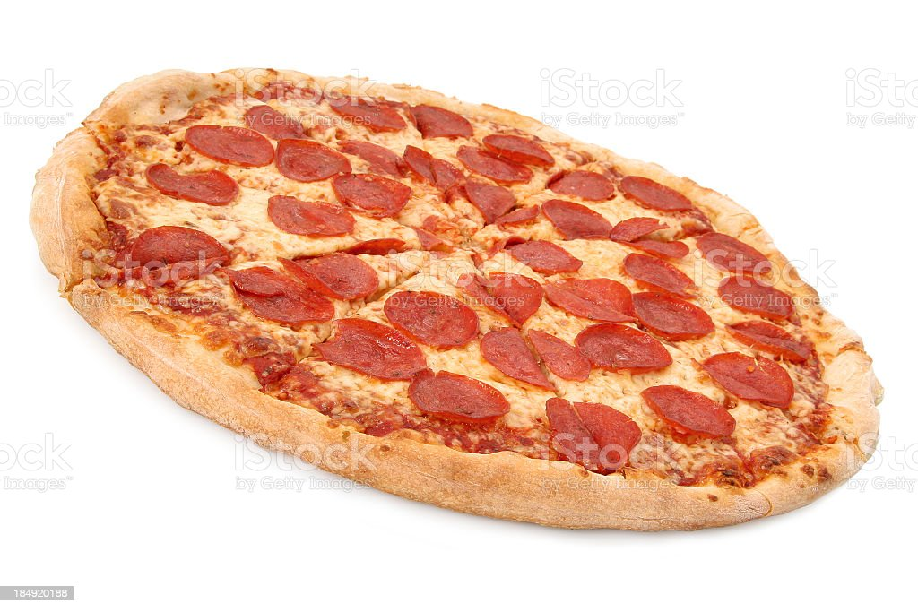 Pepperoni & Cheese - 02 stock photo