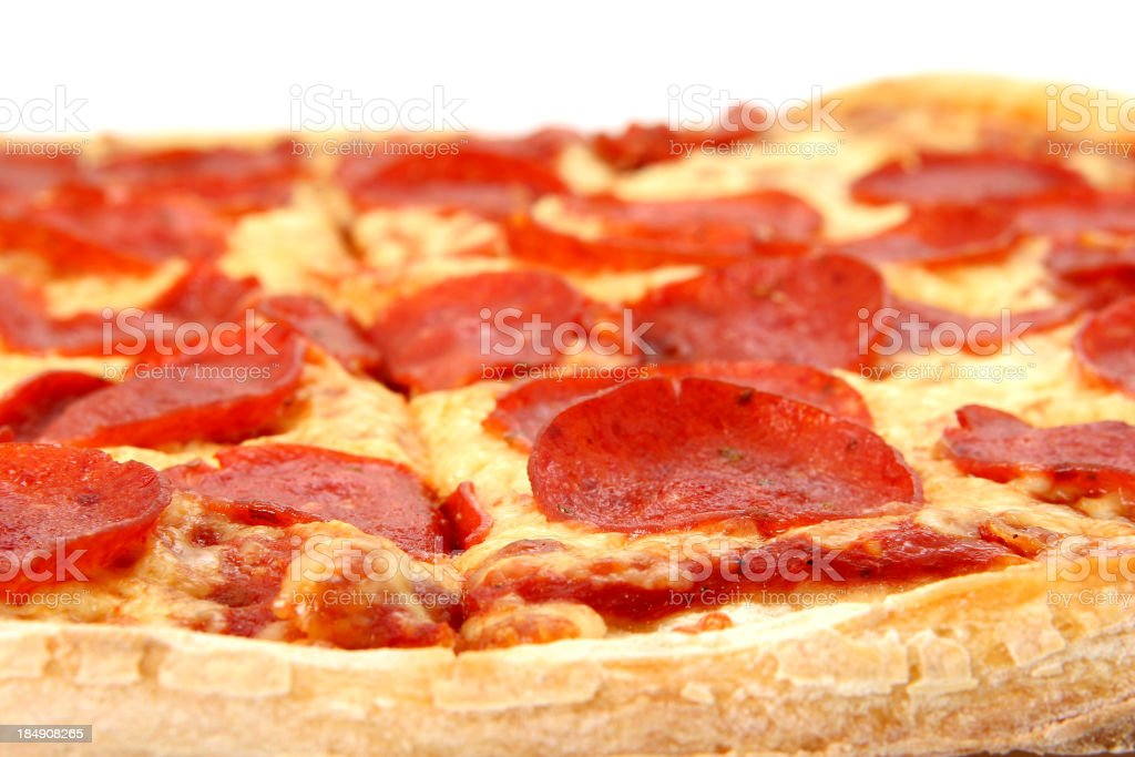 Pepperoni & Cheese - 05 royalty-free stock photo