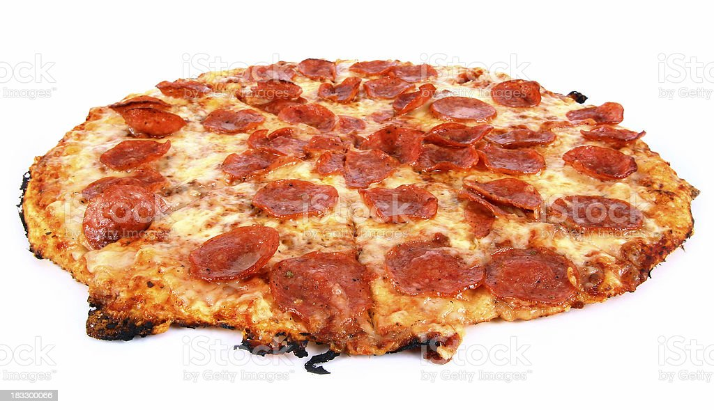 Pepperoni & Cheese2 - 04 royalty-free stock photo