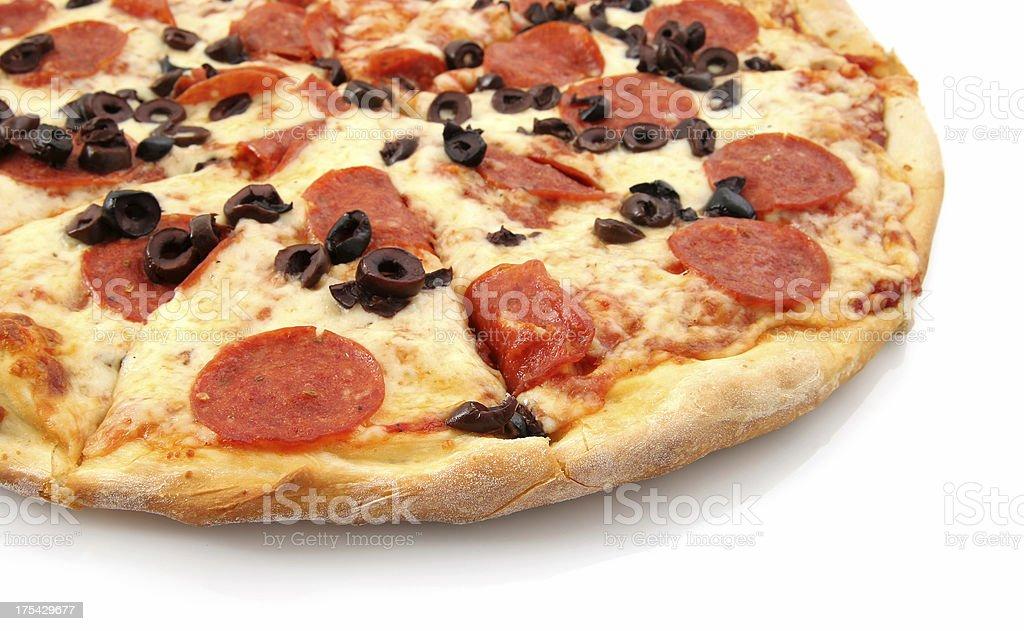 Pepperoni & Olive - 04 royalty-free stock photo