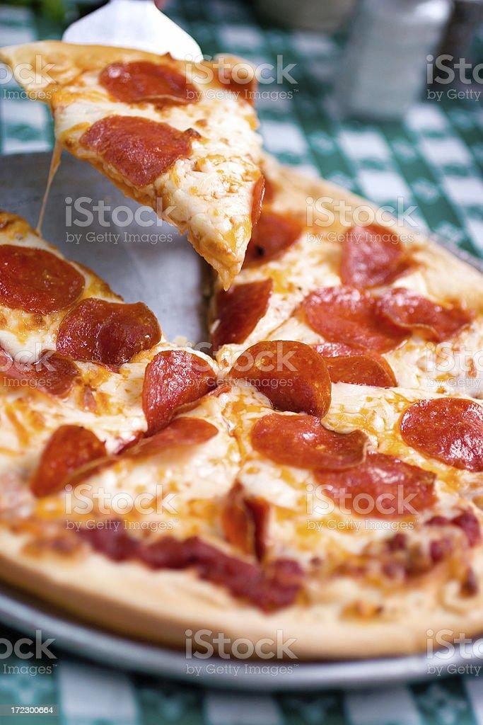 Pepperoni Pizza stock photo
