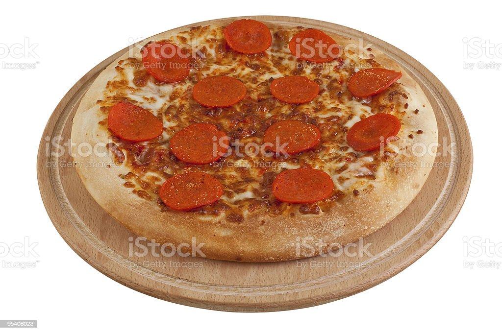 페페로니 피자 royalty-free 스톡 사진