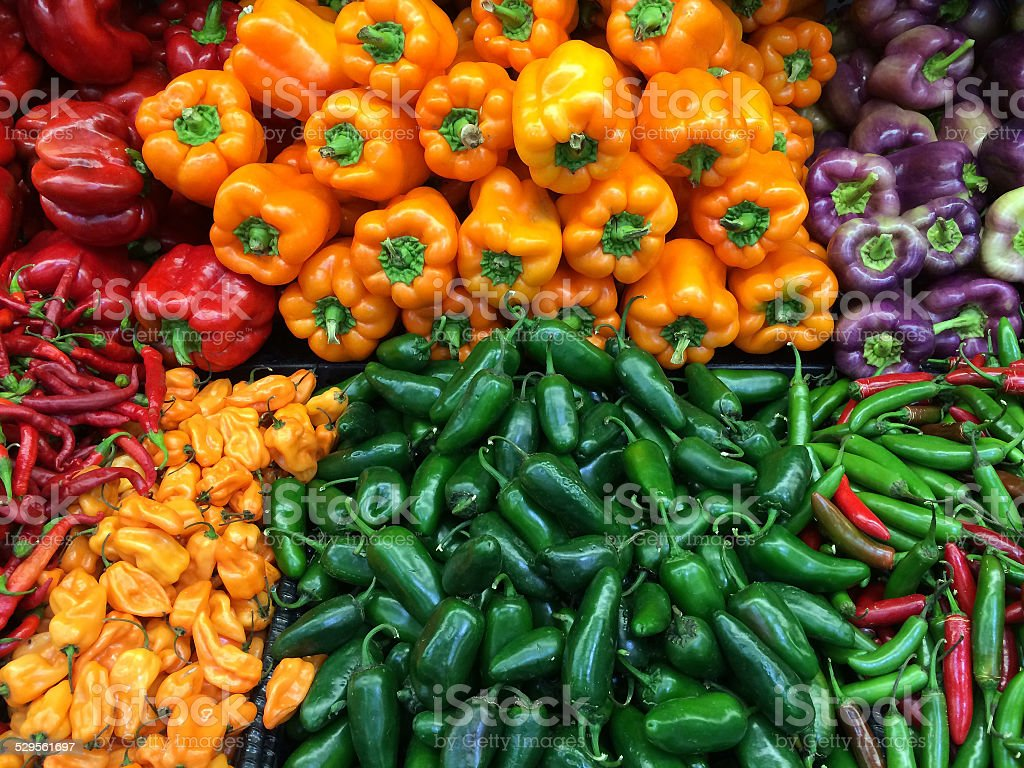 Peppers 1 stock photo
