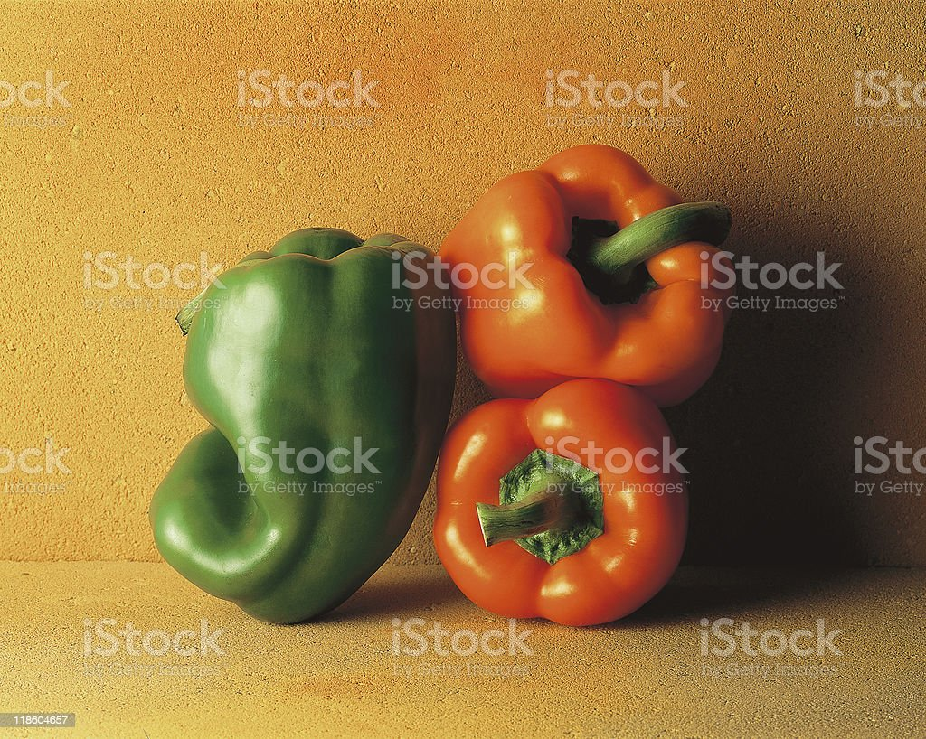 Peppers or Capsicum stock photo