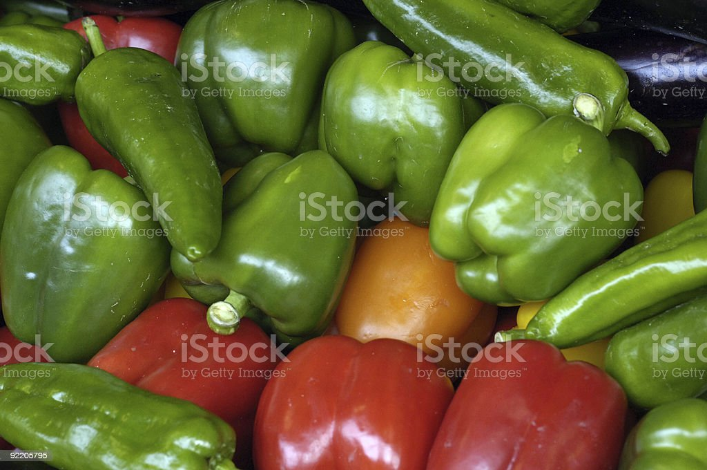 Peppers royalty-free stock photo