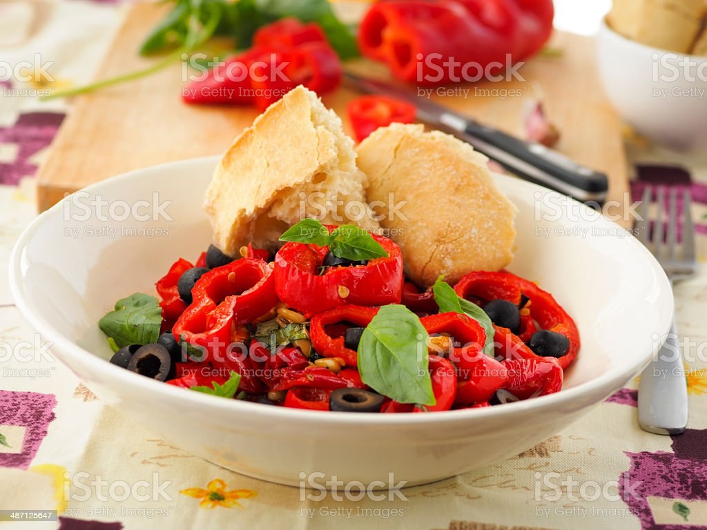 Peppers provencal royalty-free stock photo