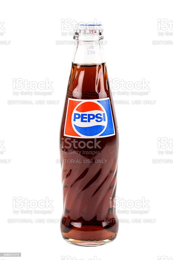 Pepsi Bottle stock photo