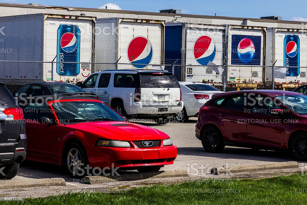 Pepsi Bottling Location I stock photo