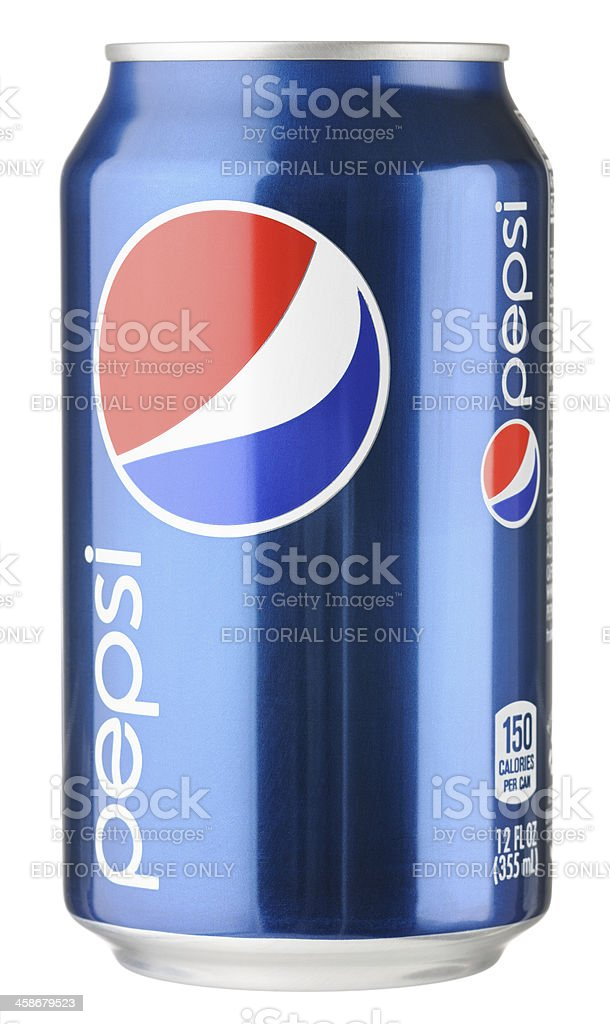 Pepsi Can stock photo